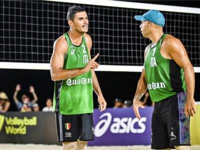 Beach volley, World Tour 2021 Cancun3. Rossi/Carambula non scalano la montagna russa. Con Lucena/Dalhausser per il terzo posto