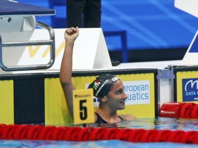 Nuoto, Quadarella n.1 d'Europa ancora negli 800 sl, 4×200 sl mixed d'argento. Miressi sontuoso, delude Martinenghi