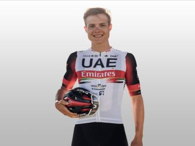 Ciclismo, l'UAE Team Emirates sigla un accordo triennale con il giovane tedesco Felix Groß