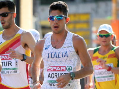 Atletica, Coppa Europa marcia: Andrea Agrusti magico 3° nella 50 km col minimo olimpico! L'Italia vince la gara a squadre