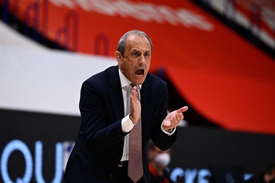 """Basket, Ettore Messina: """"Bayern sempre ben preparato, l'assenza di Delaney ci obbliga a cambiare le rotazioni"""""""
