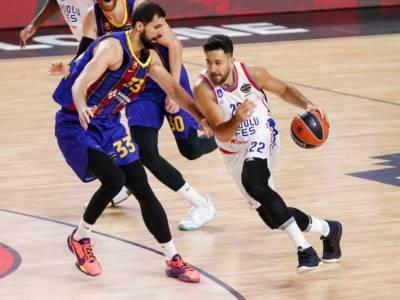 Basket, Eurolega 2021: Micic e Larkin mandano ko il Barcellona. Efes sul tetto d'Europa