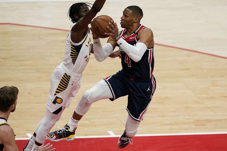 NBA 2021, i risultati della notte. Westbrook eguaglia Robertson ed è nella storia, Embiid guida Philadelphia, torna a vincere Brooklyn