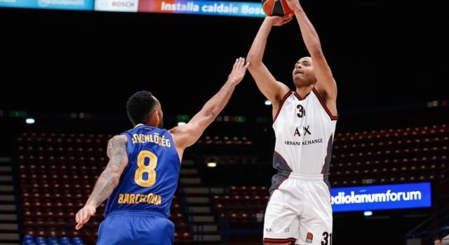 LIVE Olimpia Milano-Barcellona 82-84, Eurolega basket in DIRETTA: Higgins firma la vittoria all'ultimo secondo
