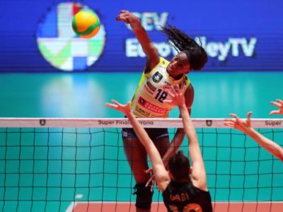 Volley, Conegliano vince la Champions League! Pantere Campionesse d'Europa, Egonu la più forte del mondo: 40 punti!