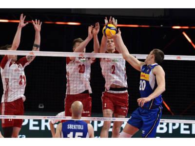Volley, Nations League: Italia-Polonia 0-3. I giovani azzurri travolti dai Campioni del Mondo