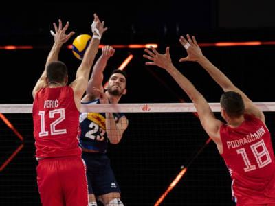 Volley, Nations League: Italia-Serbia 1-3, terzo ko per gli azzurri. Pinali non basta