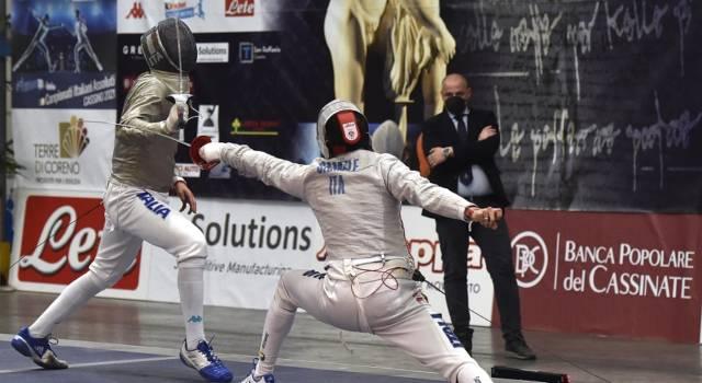 Scherma, Assoluti 2021: Samele e Gregorio conquistano i titoli nella sciabola