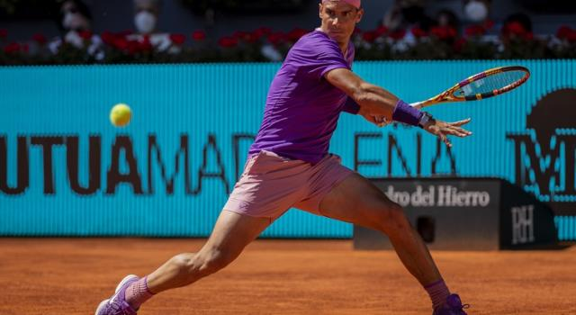 Masters 1000 Madrid 2021: i risultati di oggi. Nadal domina con Alcaraz, avanti Medvedev e Tsitsipas