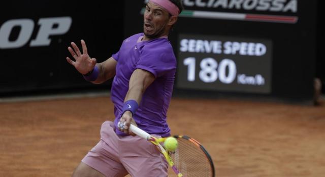 Internazionali d'Italia 2021: Nadal e Opelka in semifinale, poi arriva la pioggia
