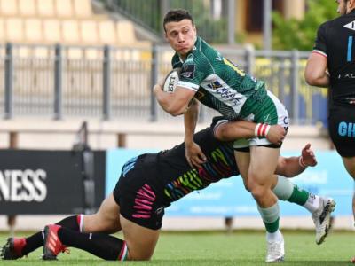 Rugby, Rainbow Cup 2021: Treviso batte le Zebre con la meta di Halafihi