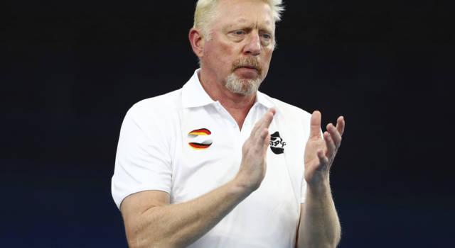 """Tennis, Boris Becker su Lorenzo Musetti: """"Ha mancato di rispetto a Djokovic ritirandosi, non essendo infortunato"""""""