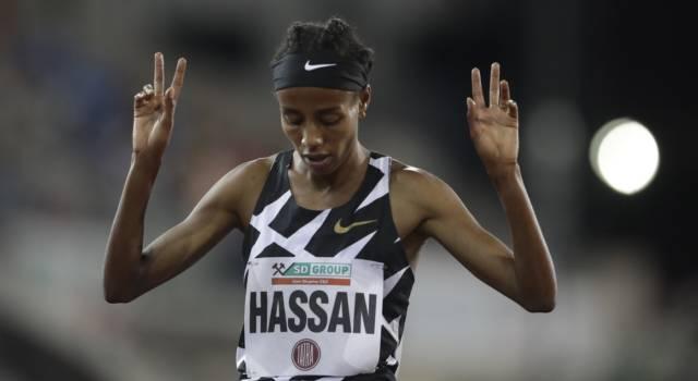 Atletica, Sifan Hassan aliena: record del mondo sui 10000 metri, primato demolito di 10 secondi!