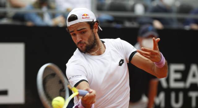 """Roland Garros 2021, Matteo Berrettini: """"Aspettavo la sfida contro Federer da tanto. Roger spero di vederti presto sull'erba"""""""