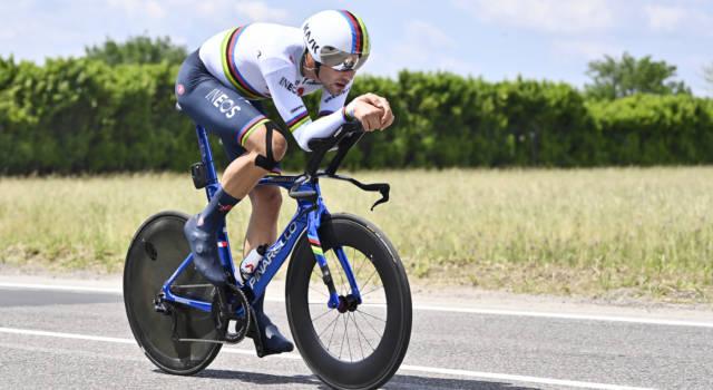 """Ciclismo, Filippo Ganna: """"Ho subito il caldo. Il percorso delle Olimpiadi sarà come oggi, non cerco scuse"""""""