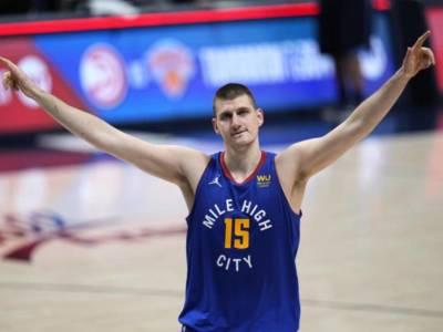 NBA: Nikola Jokic MVP della regular season a larghissima maggioranza