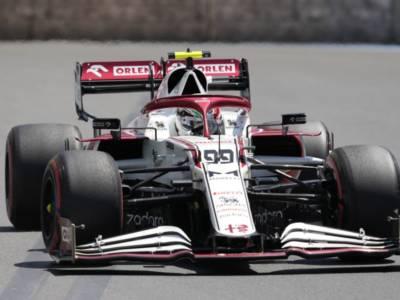 """F1, Antonio Giovinazzi: """"Dovremo imparare da questa gara e concentrarci sull'Ungheria"""""""