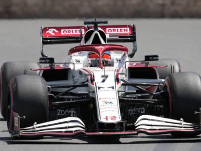 """F1, Kimi Raikkonen: """"La ripartenza dopo la bandiera rossa è stata piuttosto movimentata"""""""