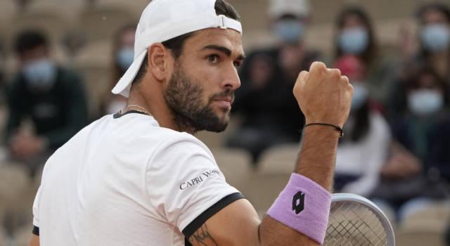 """Tennis, Matteo Berrettini: """"Le urla di Djokovic mi hanno fatto piacere. Sinner e Musetti? Anche gli altri contano"""""""