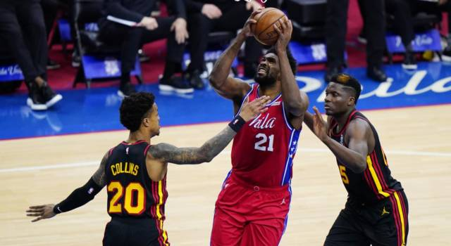 Playoff NBA 2021, i risultati della notte (9 giugno): Embiid e Mitchell devastanti, pari 76ers contro un bel Gallinari, vantaggio Jazz