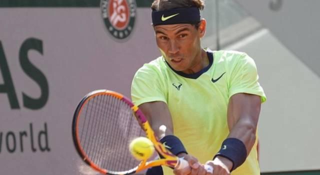 """Roland Garros 2021, Rafa Nadal: """"Fortunato a controbrekkare Sinner a fine primo set, da lì è cambiato il match"""""""