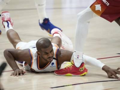 NBA, Chris Paul esce dal protocollo Covid-19 e torna in campo per Gara-3 contro i Clippers