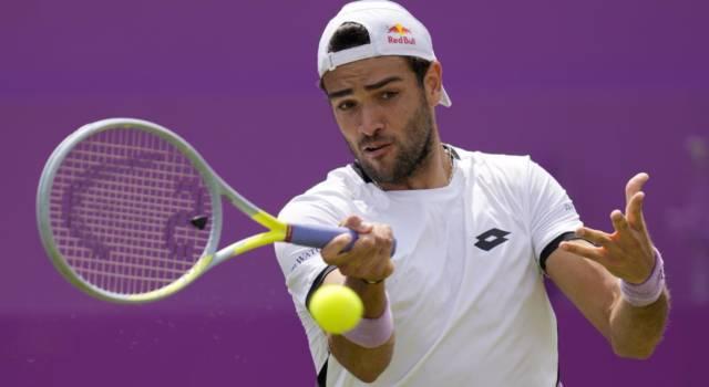 ATP Queen's 2021, Berrettini vince il derby con Travaglia e si regala Murray, avanzano Fognini e Shapovalov