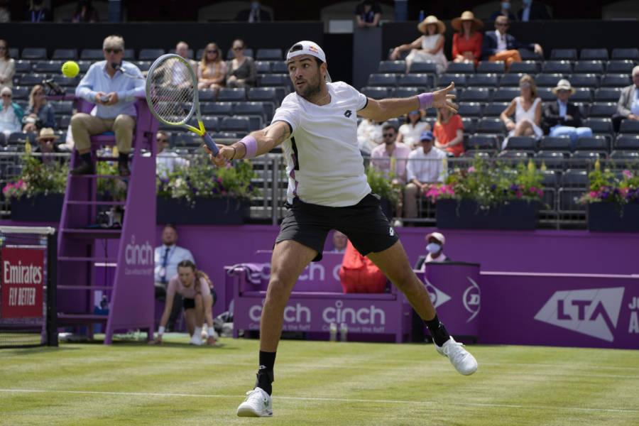 Berrettini Murray, ATP Queen's 2021: programma, orario, tv, streaming 2° turno