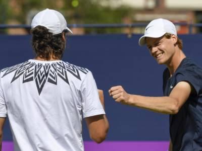 ATP Queen's 2021: Jannik Sinner e Feliciano Lopez sconfitti in doppio dai numeri 1 del mondo Mektic e Pavic