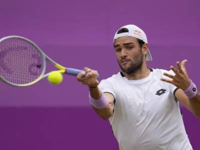 LIVE Berrettini-Evans 7-6 6-3, Queen's 2021 in DIRETTA: Federer vicino nel ranking ATP. Orario e avversario semifinale