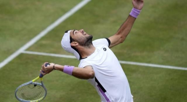 Classifica ATP Matteo Berrettini: come cambierebbe il ranking in caso di vittoria al Queen's. E Federer…