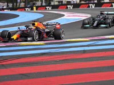 VIDEO F1, GP Francia 2021: highlights e sintesi. Verstappen batte Hamilton, Ferrari a picco