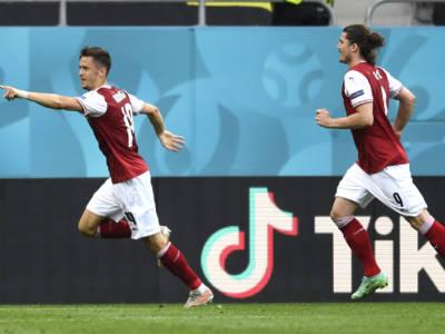 Europei di calcio 2021, Girone C: l'Austria batte l'Ucraina e sfiderà l'Italia. Olanda in scioltezza sulla Macedonia del Nord