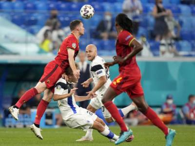 VIDEO Finlandia-Belgio 0-2, highlights, gol e sintesi Europei: un autogol e Lukaku decidono il match