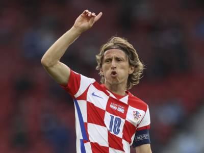 Calcio, Europei 2021: Luka Modric fa volare la Croazia, vince anche l'Inghilterra