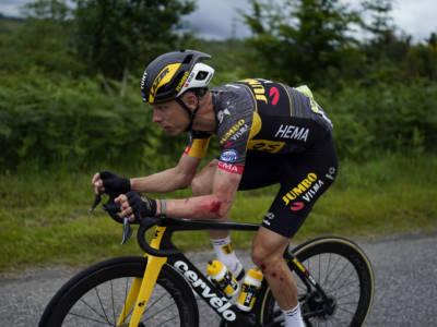 Tour de France 2021, chi è rimasto coinvolto nelle cadute. Froome, Valverde già fuori dai giochi, che botta per Lopez e Porte