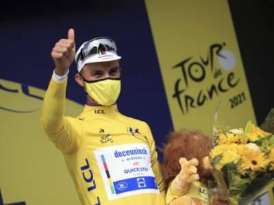 Classifica Tour de France 2021, prima tappa: Julian Alaphilippe maglia gialla, 18° Vincenzo Nibali