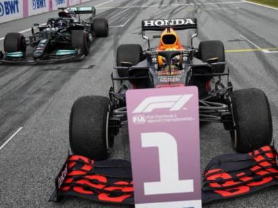 F1, la griglia di partenza dopo la Sprint Race: Max Verstappen in pole, poi Hamilton, Bottas e Leclerc