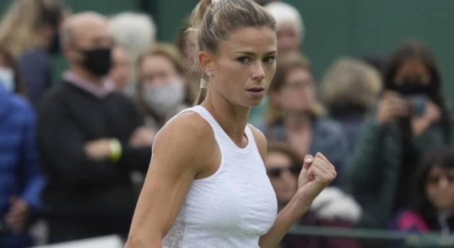 Wimbledon, Camila Giorgi domina Teichmann e accede facilmente al 2° turno