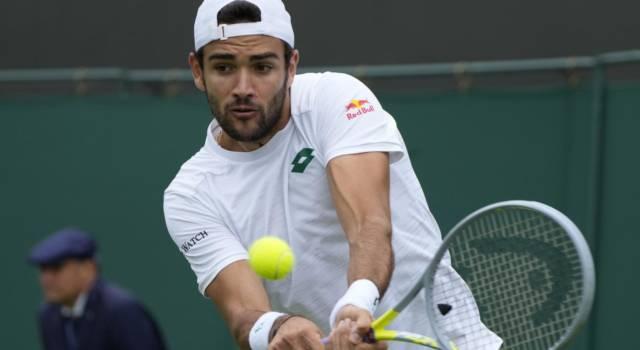Wimbledon 2021, Matteo Berrettini si porta a casa il primo turno: Guido Pella superato in quattro set