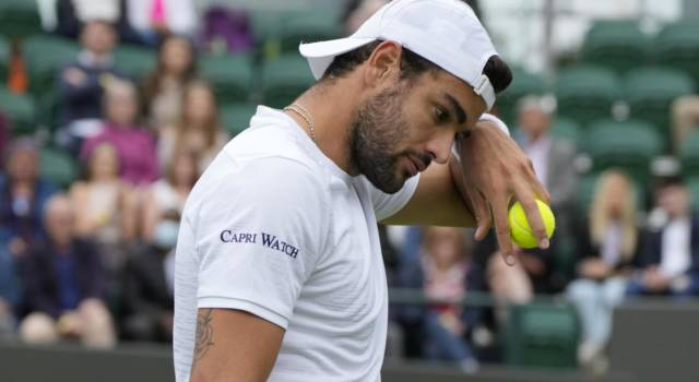 Classifica Matteo Berrettini: proiezioni ranking ATP Wimbledon. 8° virtuale, sorpassato Federer!