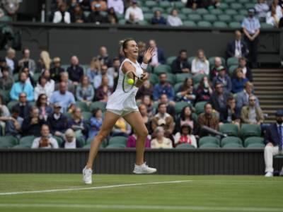 Wimbledon, risultati femminili 30 giugno: avanza Giorgi. Al terzo turno Sabalenka e Pliskova, fuori Kenin e Pegula