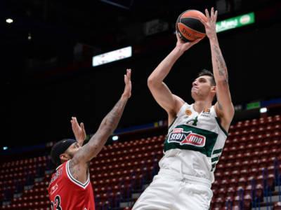Basket: Dinos Mitoglou approda all'Olimpia Milano, è il terzo acquisto del club per la nuova stagione