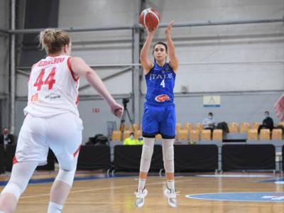 Basket femminile, Italia sconfitta dalla Francia in amichevole: ko al supplementare verso gli Europei