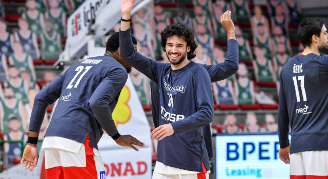 Basket, la Reyer Venezia riporta in Italia Michele Vitali