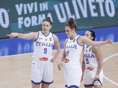 Italia-Serbia, Europei basket femminile 2021: programma, orario, tv, streaming