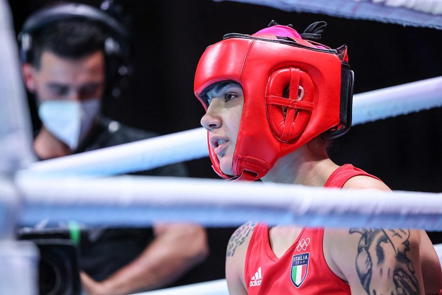 """Boxe, Olimpiadi Tokyo. Rebecca Nicoli: """"Un'avversaria aggressiva per rompere il ghiaccio era quello che mi serviva"""""""
