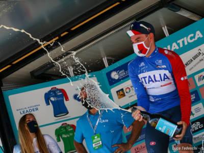 """Elia Viviani si impone alla Adriatica Ionica: """"Sono tornato a vincere e voglio farlo alle Olimpiadi"""""""