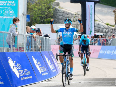 Adriatica Ionica Race, Lorenzo Fortunato trionfa sulla Cima Grappa e ipoteca la vittoria finale!