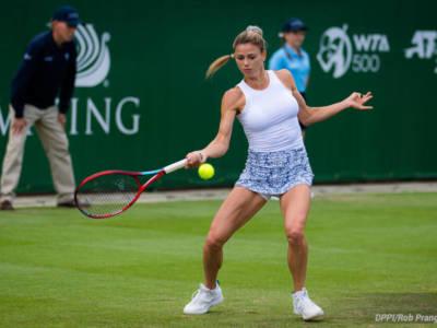 WTA Eastbourne 2021, semifinaliste tutte in tre set. Giorgi al terzo, poi tre vittorie in rimonta